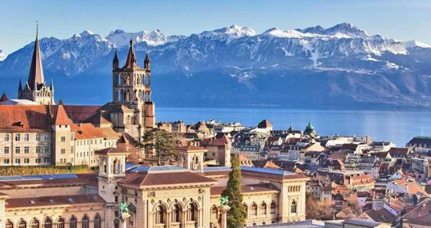 Orientation tour of  Lausanne