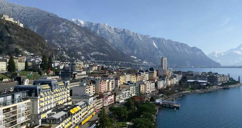 Orientation tour of Montreux