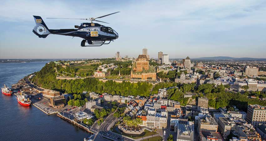 Helicopter Ride of the city