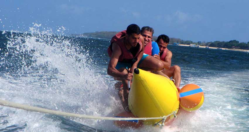 Banana Boat ride sports
