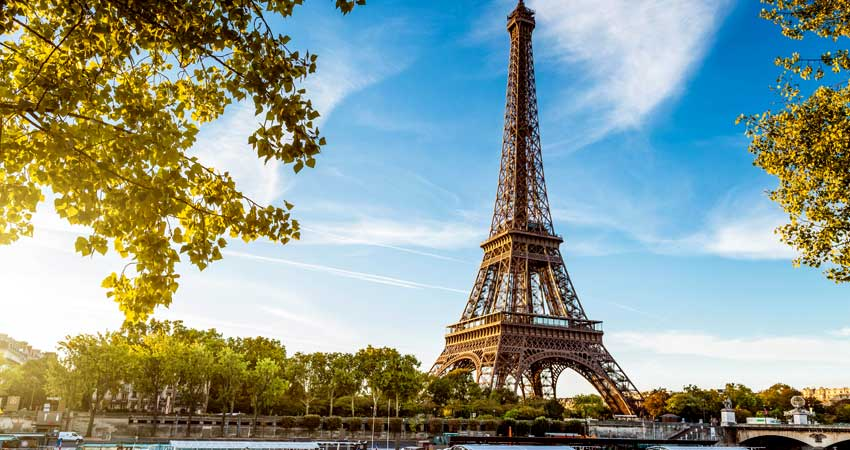 Eiffel Tower level – 2 Level.