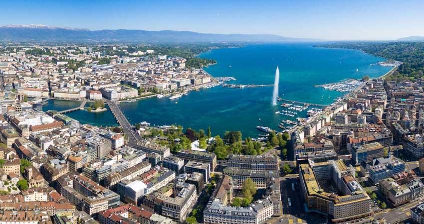 Orientation tour of Geneva