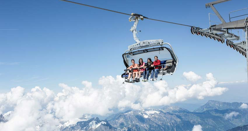 Excursion to Mt. Titlis with IceFlyer.