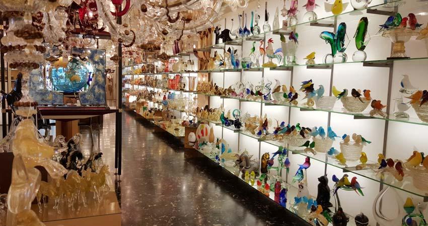 Murano Glass Show Room