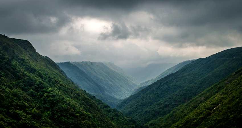Scenic Khasi Hills