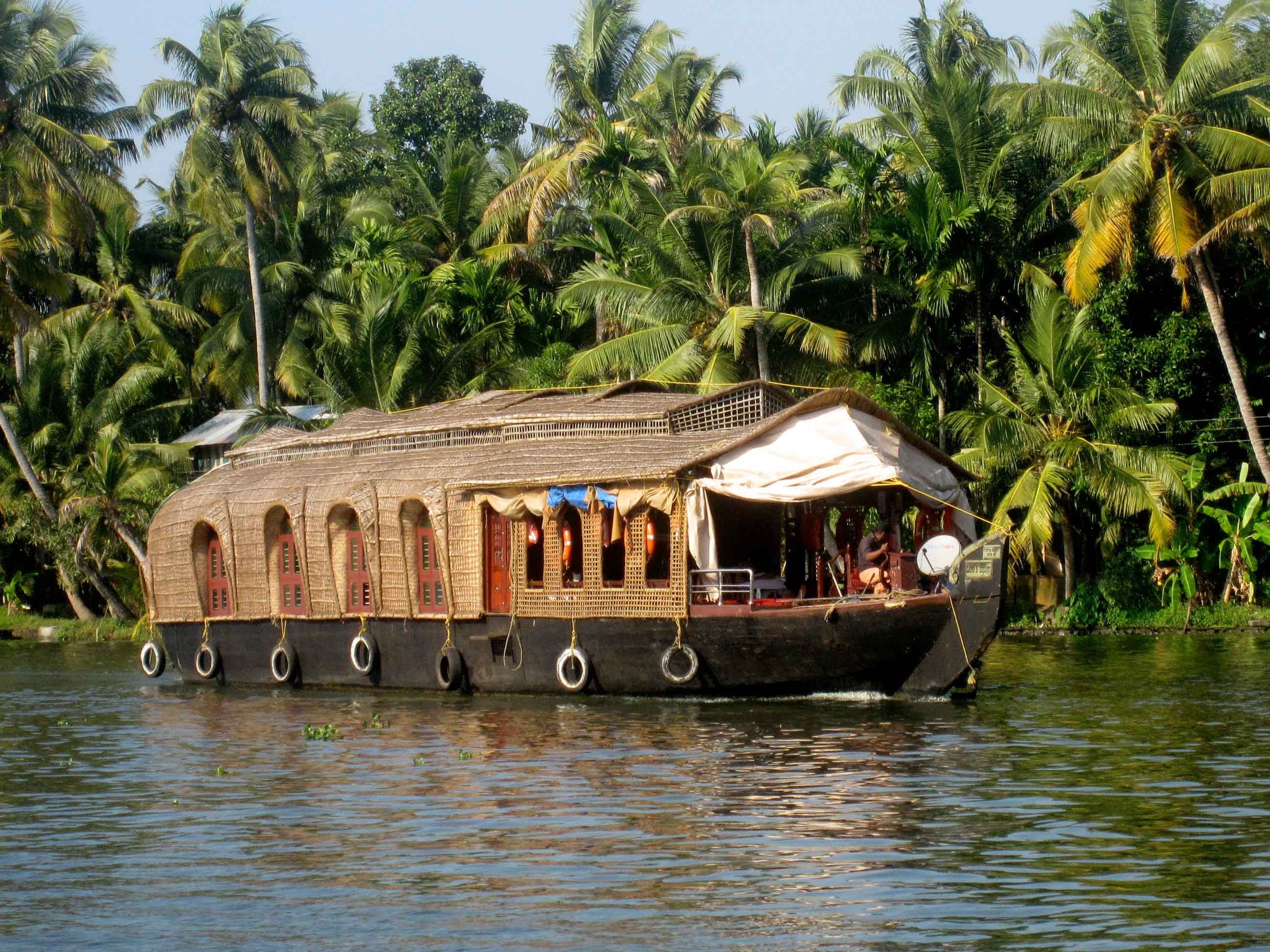 Munnar Thekkady Alleppey