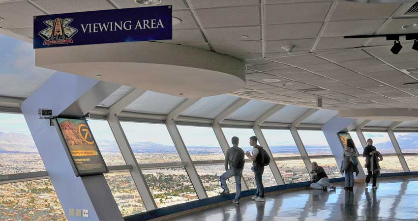 Stratosphere Tower Observation Deck ticket only1