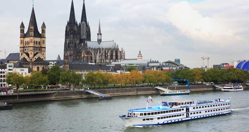 Cologne Boat Ride