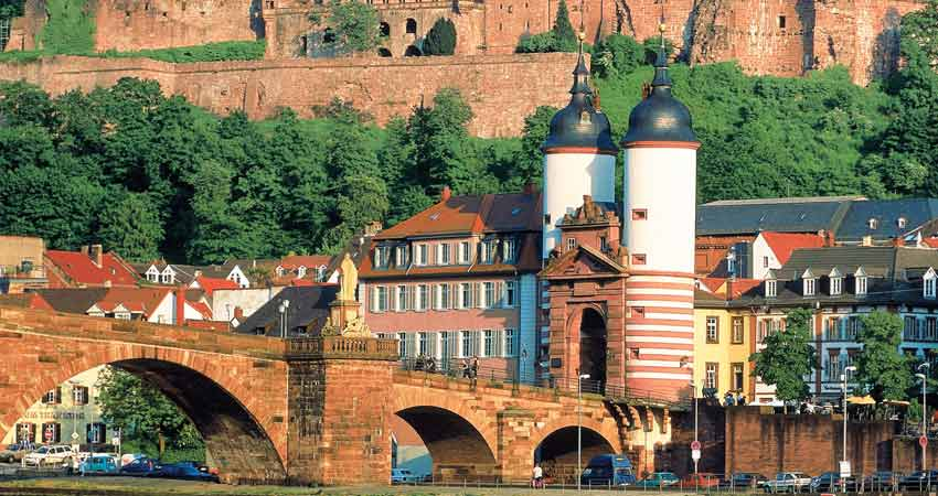 Heidelberg and Cologne Cathedral