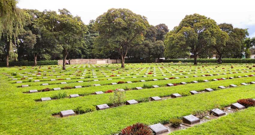 Visit war cemetery