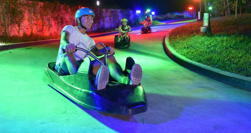 Singapoure night Luge